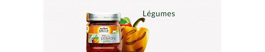 Légumes à l'Huile Saclà, Antipasti & Apéritifs Italiens Bio