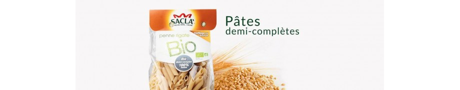 Pâtes Semi-Complètes Saclà, Pâtes Italiennes & Pâtes Bio - Saclà