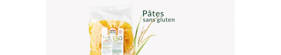 Pâtes sans gluten bio Saclà, Pâtes de riz & maïs, Produit Italien