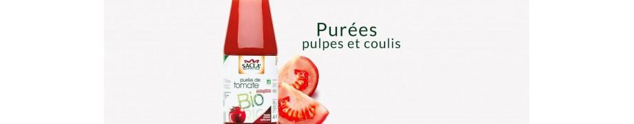 Purées, Pulpes & Coulis de Tomates Bio Saclà, Sauces Italiennes